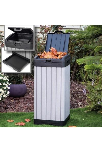 Ktr Duotech Bahçe Çöp Kovası