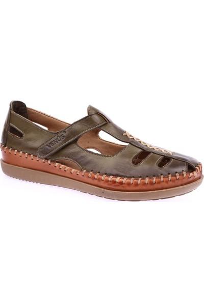 Venüs 19793509 Kadın Sandalet Ayakkabı Yeşil