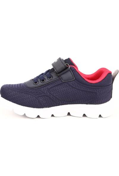 M.P 191-5806Pt Çocuk Patik 191-5806 Pt Spor Spor Ayakkabı Lacivert-Kırmızı
