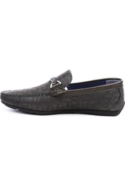 Dgn 6623 Erkek Soft Loafer Ayakkabı Yeşil Arm