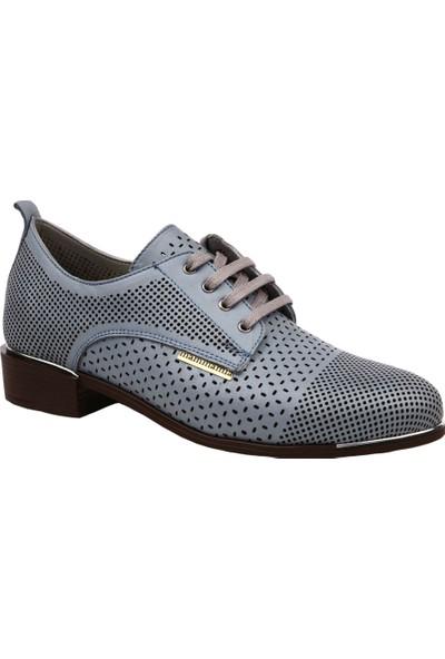 Mammamia D19Ya-680 Kadın Günlük Ayakkabı Mavi Sedef