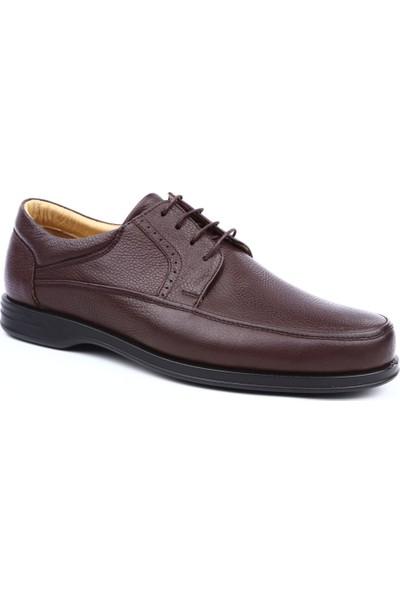 Dgn T632627 Erkek Bağcıklı Ekstra Comfort Ayakkabı Kahve