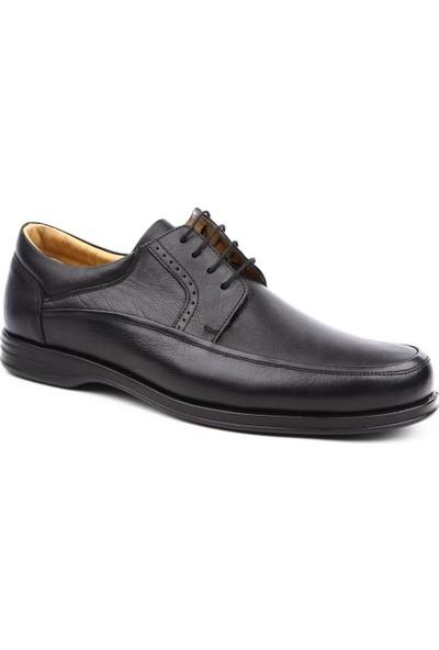 Dgn T632627 Erkek Bağcıklı Ekstra Comfort Ayakkabı Siyah