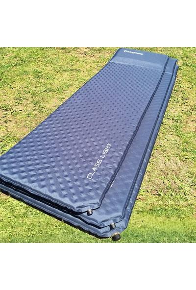 King Camp Gri - Mavi Classic Light Sısme Mat