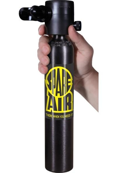 Spare Air Yedek Hava Kaynagı Siyah Manometrelı