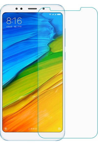 Kılıfkutusu Xiaomi Redmi 5 Plus Nano Cam Ekran Koruyucu