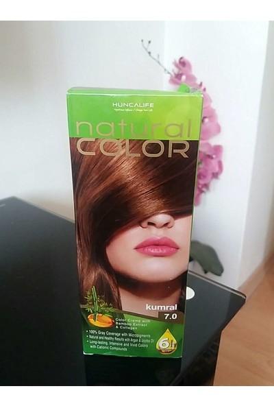 Huncalife Natural Color Kumral Saç Boyası- 7.0