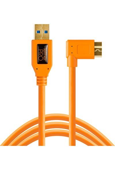 Tether Tools Tetherpro Usb 3.0 To Micro-B Right Angle - Bağlantı Kablosu 4.6M