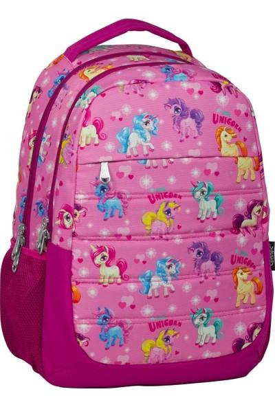 Ümit Çanta Cennec Unicorn Baskılı İlkokul Ve Ortaokul Okul Çanta Seti