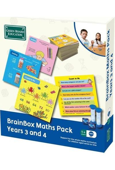 Green Board Games BrainBox Matematik Paketi 3 - 4 Yaş