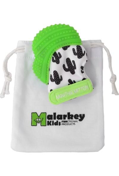 Mouthie Mitten Diş Kaşıyıcı Eldiven Yeşil - Kaktüs