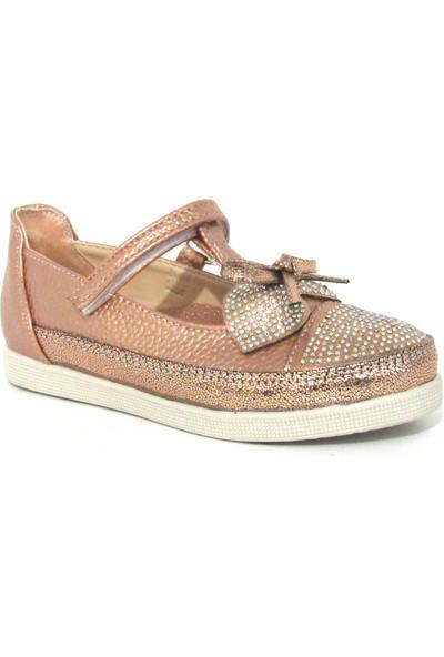 Ba & Ba Bronz Kız Bebe Çocuk Ayakkabı