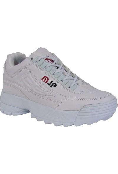 Marco Jamper Beyaz Kız Çocuk Yürüyüş Spor Ayakkabı