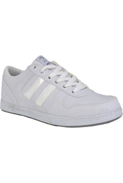 Venuma Beyaz Erkek Çocuk Günlük Kullanım Spor Ayakkabı