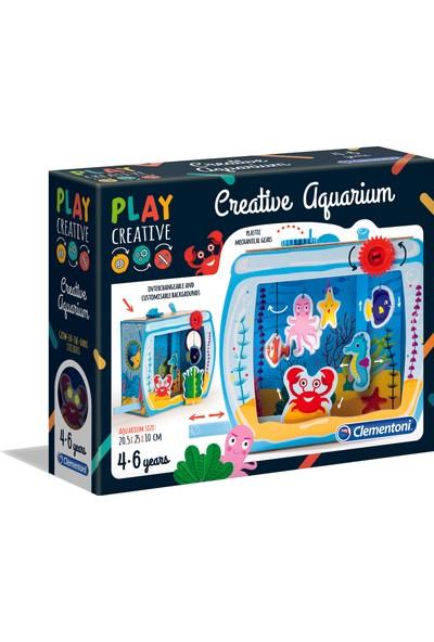 Clementoni Play Creative Yaratıcı Akvaryum