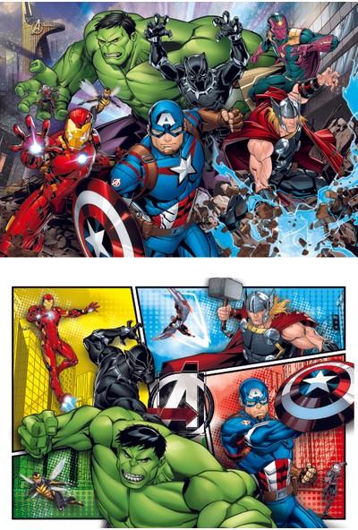 Clementoni 2 x 60 Parça Puzzle Avengers