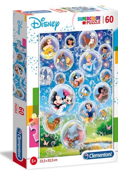 Clementoni 60 Parça Puzzle Disney Classic