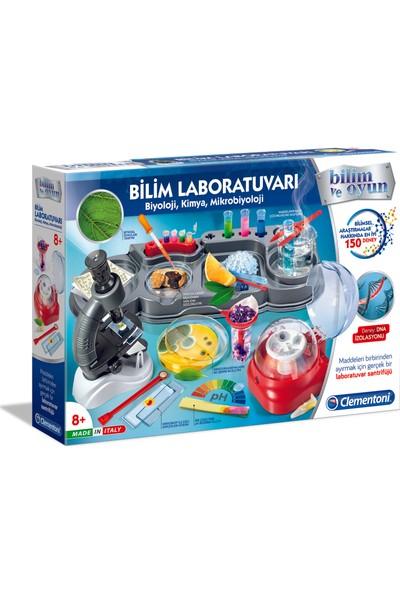Clementoni Bilim Ve Oyun Bilim Laboratuvarı Biyoloji / Kimya / Mikrobiyoloji
