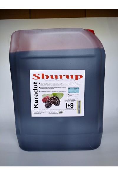 Shurup Konsantre Meyve Aromalı İçecek 6 kg Karadut + Limon + Vişne ( 3' lü)