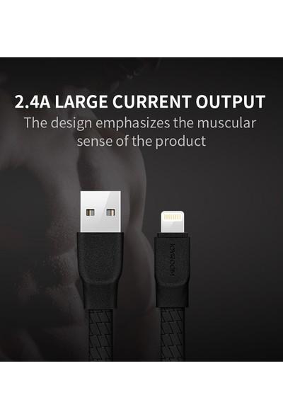 Joyroom S-L127 iPhone Titan Serisi Lightning Kopmaz Şarj Kablo Yassı