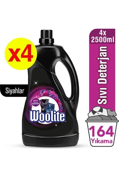 Woolite Sıvı Çamaşır Deterjanı Koyu Renkler 2500 ml x 4 Adet