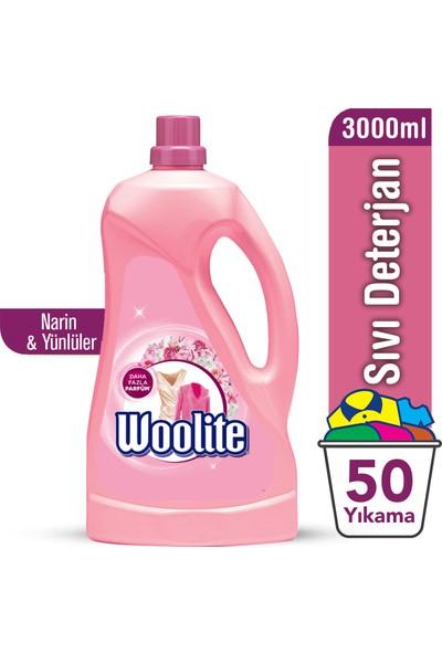Woolite Sıvı Çamaşır Deterjanı Narin Çamaşırlar 3000 ml