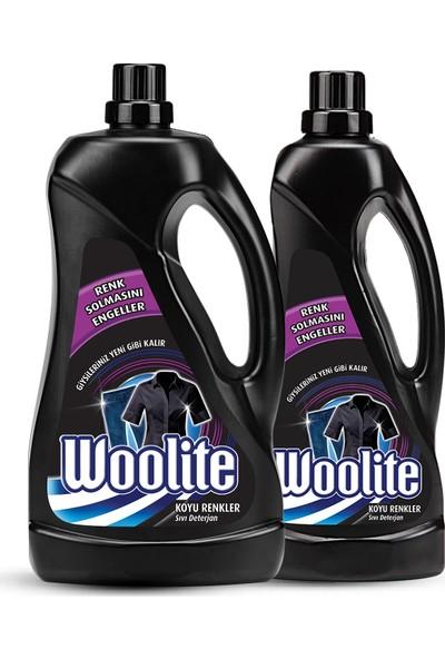 Woolite Siyah Renkler İçin 2,6 + 1,3 lt