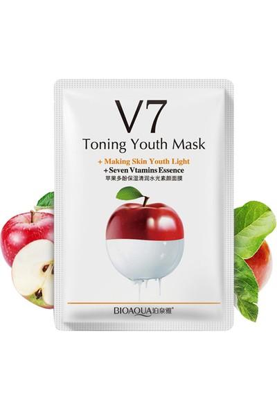 Bioaqua V7 Toning Light Elmalı Sıkılaştırıcı Gençlik Maskesi 30 gr