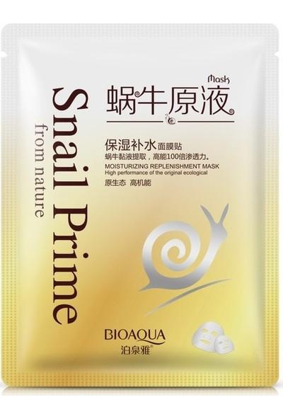 Bioaqua Snail Prime Dolgunlaştırıcı Salyangoz Maskesi 30 gr