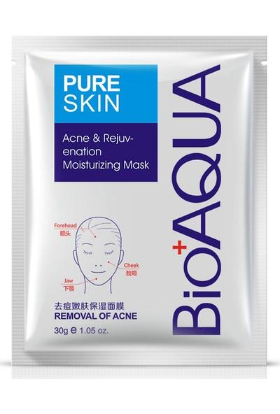 Bioaqua Pure Skin Akne Sivilce Ve İz Maskesi 30 gr