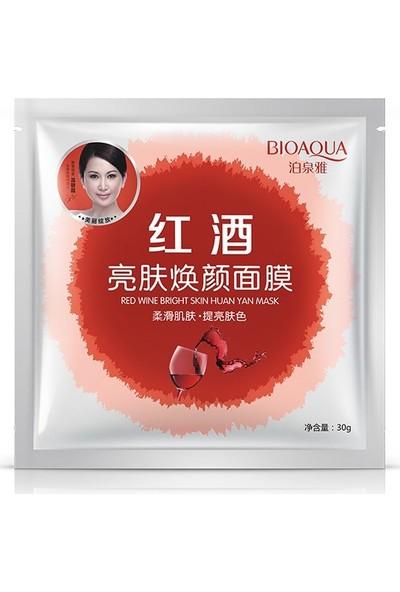 Bioaqua Kırmızı Şarap Polifenollü Antioksidan Canlandırıcı Maske 30 gr