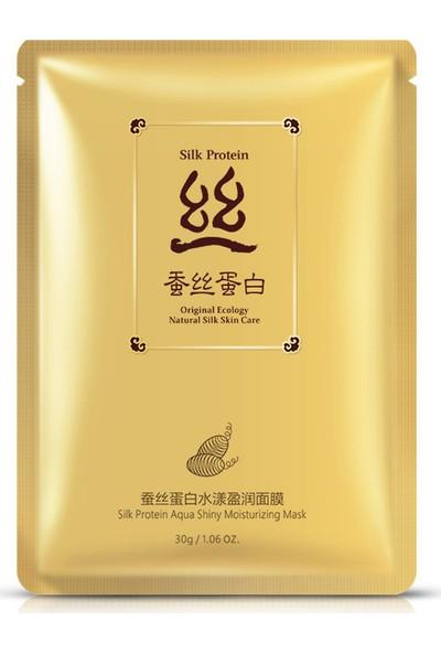 Bioaqua İpek Proteinleri Işıltı Ve Nem Maskesi 30 gr