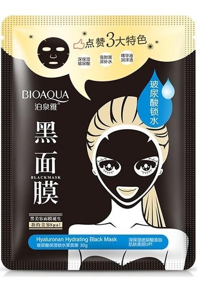Bioaqua Hyaluronan 3 Etkili Siyah Maske 30 gr