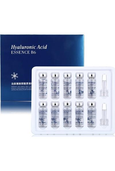 Bioaqua Essence B6 Hyalüronik Asit Ampulleri -10'Lu 5 ml X 10 Adet