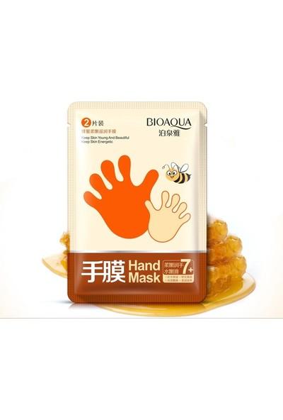 Bioaqua Ballı Onarıcı El Maskesi Manikür Eldivenleri 35 gr - 1 Çift