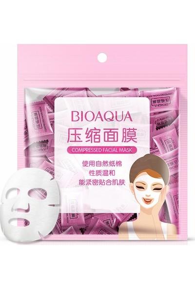 """Bioaqua """"Kendi Maskeni Kendin Yap"""" Komprime Kağıt Maskeler 10 Adet"""