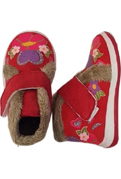 Pappix İçi Kürklü Kız Ayakkabı 19-24 Numara Pembe