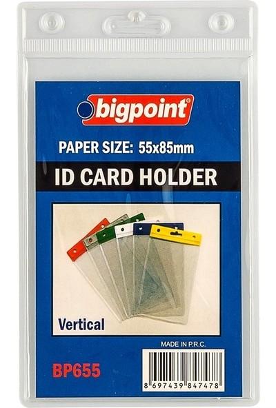 Bigpoint Bp655-00 Kart Posetı Dıkey Seffaf (55X85)