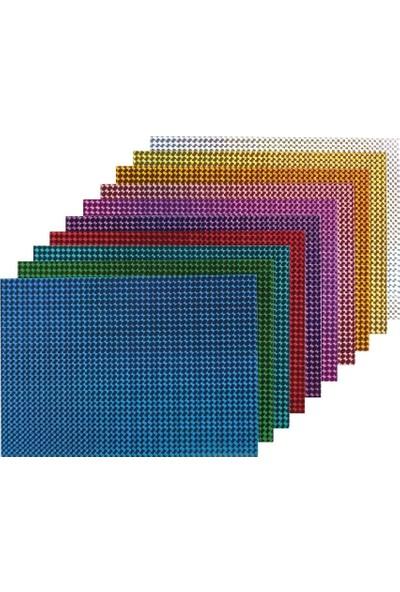 Bigpoint Metalik Renkli Karton 50X70 Karışık 10'Lu