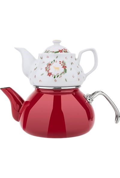 Karaca Nola Çaydanlık Takımı