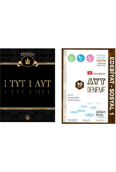 Set 1 TYT 1 AYT Deneme + Üç Dört Beş AYT Edebi̇yat - Sosyal 1 Deneme