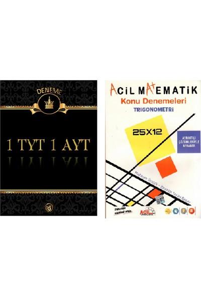 Set 1 TYT 1 AYT Deneme + Aci̇l Yayınları AYT Tri̇gonometri̇ Konu Denemeleri̇
