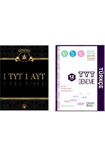 Set 1 TYT 1 AYT Deneme + Üç Dört Beş TYT Türkçe Denemesi̇