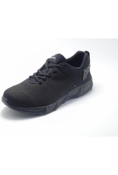 Lepons Siyah Örme Kumaş Sneaker