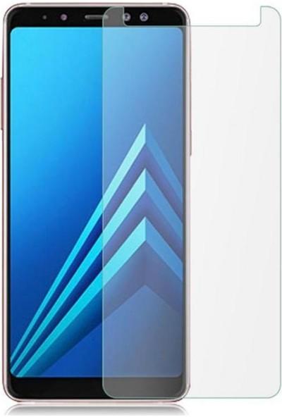 Notebookuzman Samsung Galaxy A8 2018 Kırılmaz Ekran Koyuyucu Temperli Cam