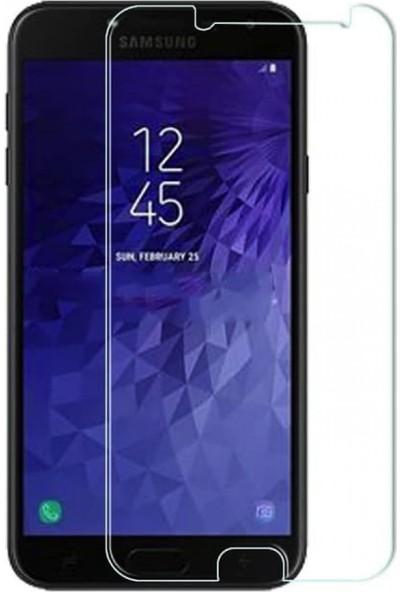 Notebookuzman Samsung Galaxy J4 Kırılmaz Ekran Koruyucu Temperli Cam