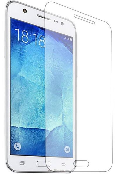 Notebookuzman Samsung Galaxy J5 Kırılmaz Ekran Koyuyucu Temperli Cam