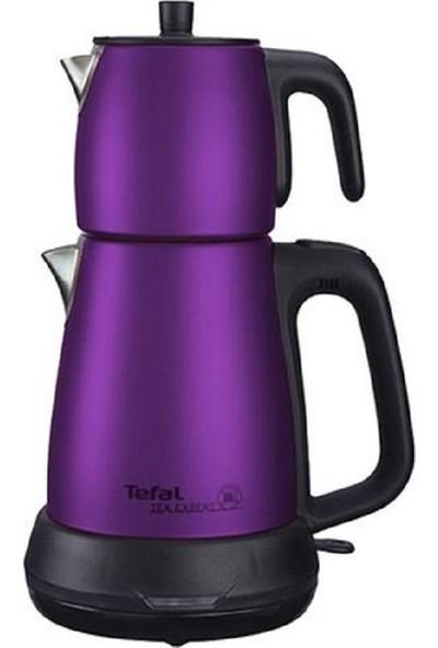 Tefal Tea Expert Çelik Demlik Çay Makinesi Mor
