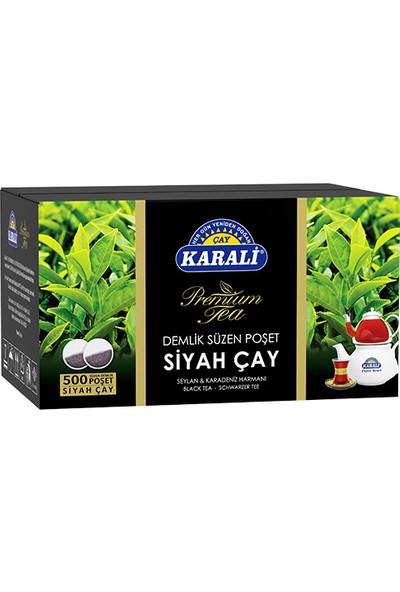 Karali Premium Demlik Poşet Siyah Çay 500'lü