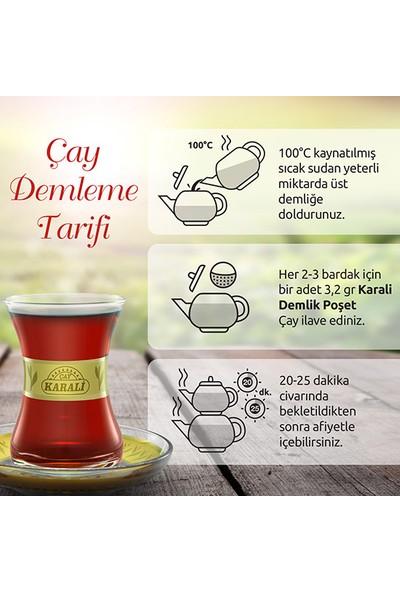 Premium Demlik Poşet Siyah Çay 500x3,2 gr